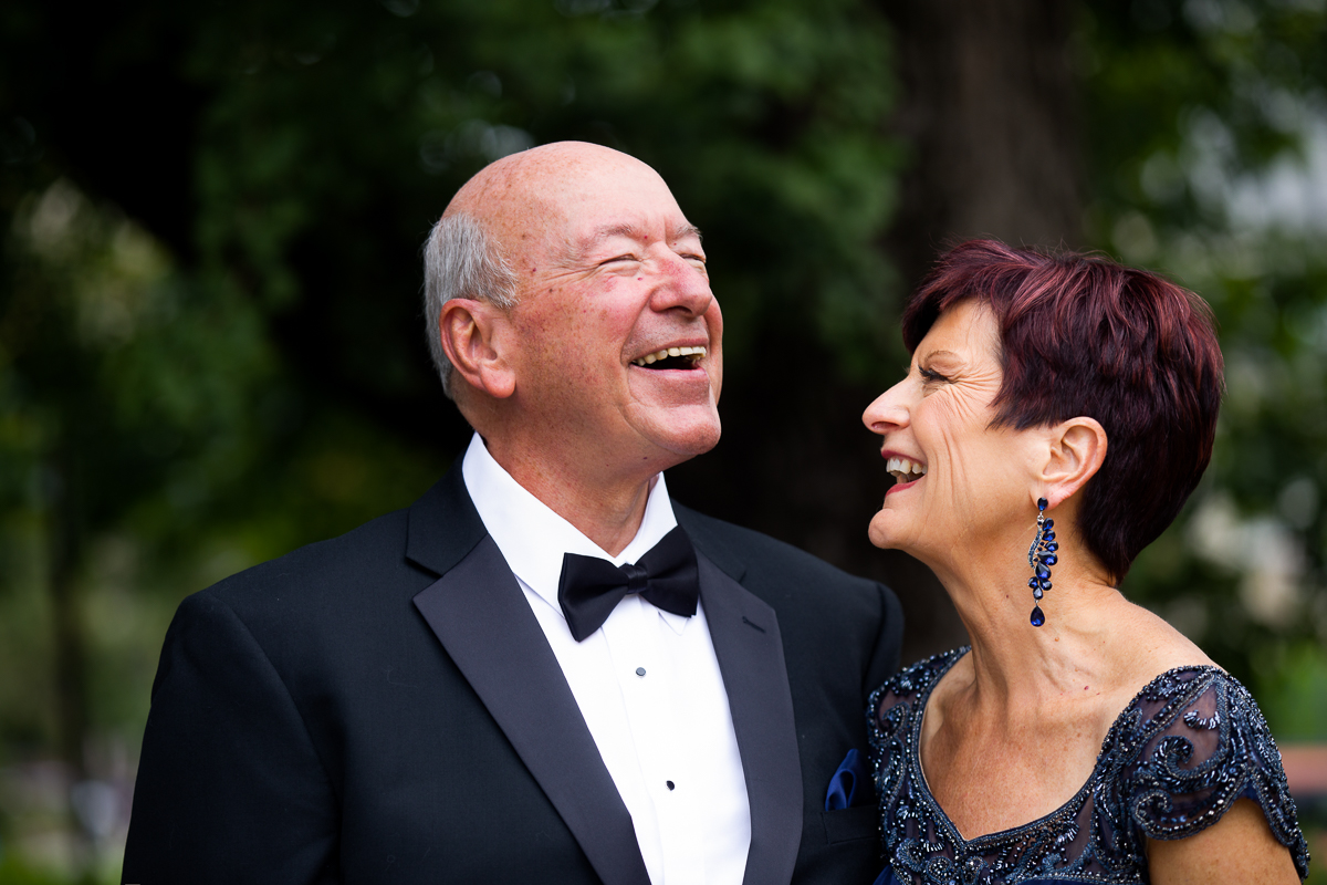 joyful parents of the bride in a washington dc wedding at the darcy hotel