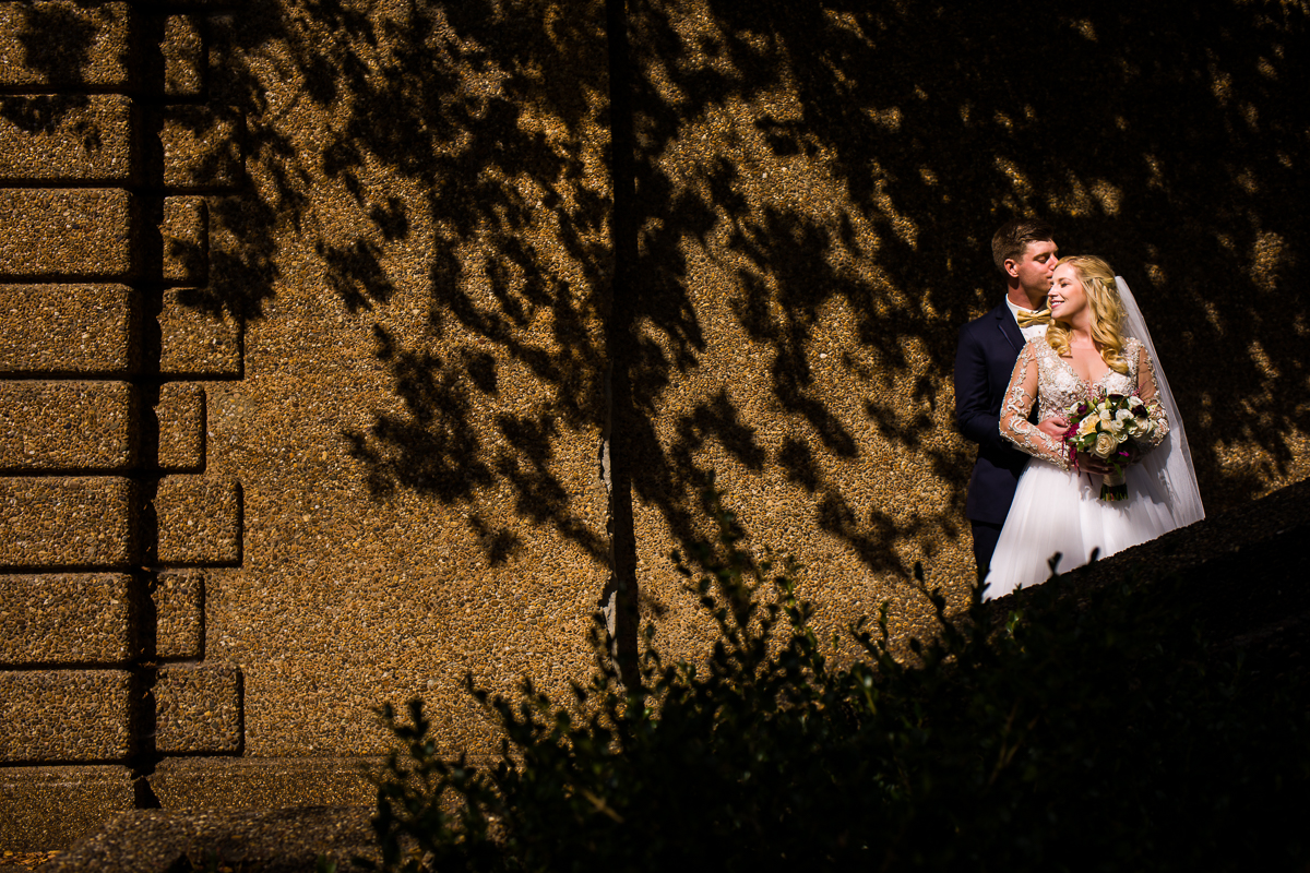 creative dc wedding photographer shadows in meridian hill park bring an artistic touch