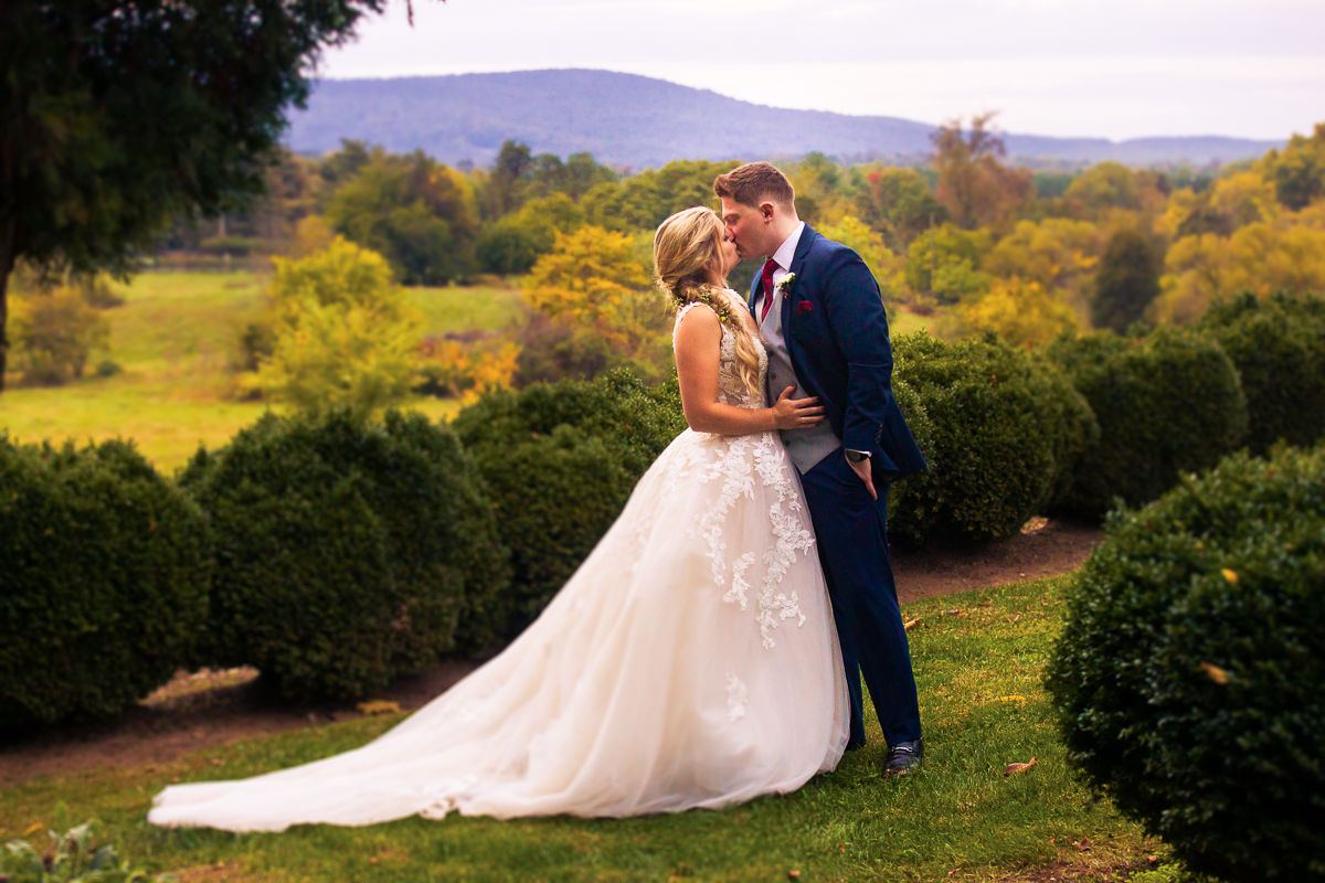 silverbrook farms wedding photographers colorful autumn wedding
