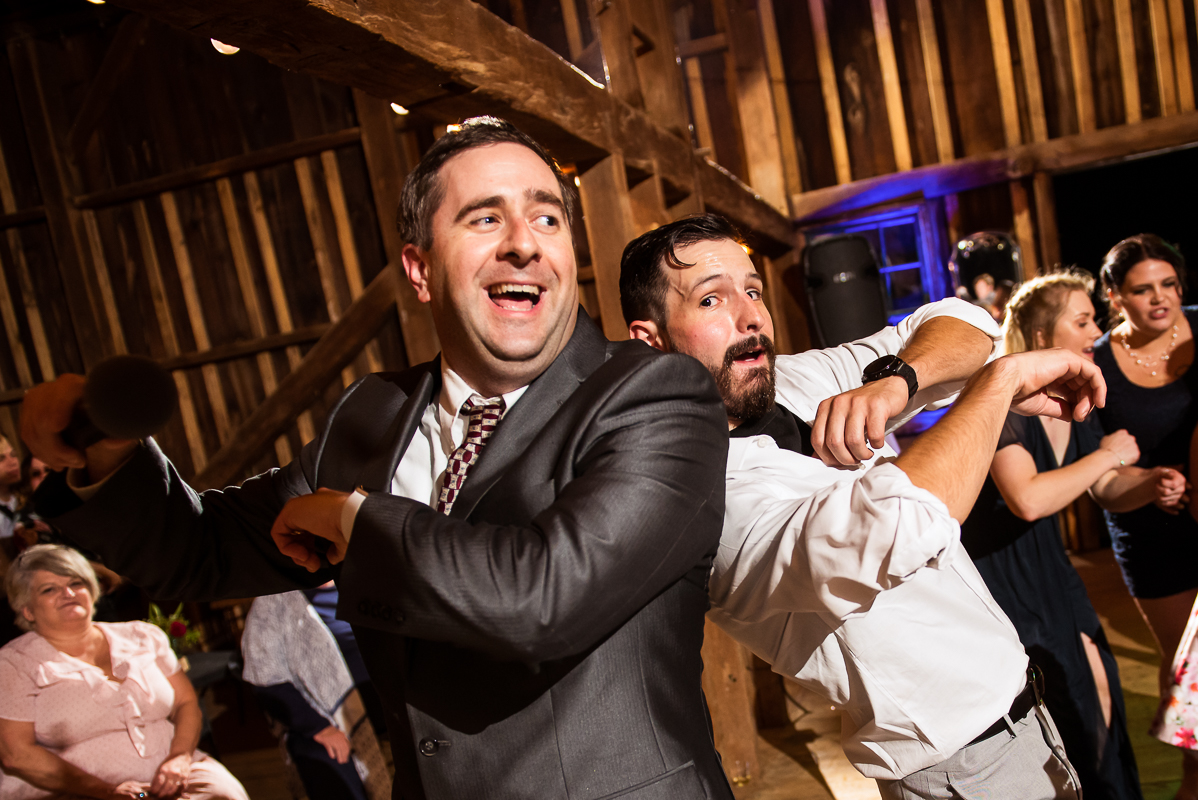 great fun dj in Purcellville who teaches wedding guests the wobble