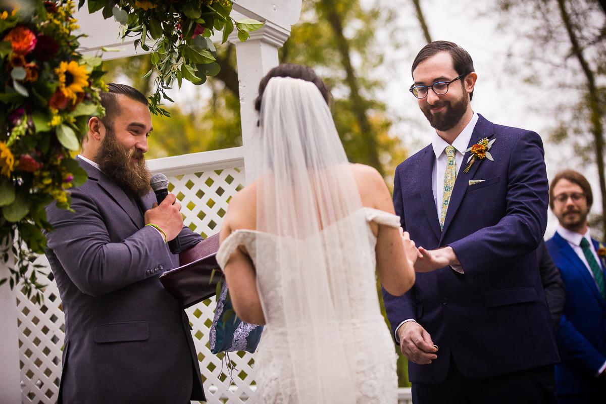 Gettysburg lodges wedding ceremony