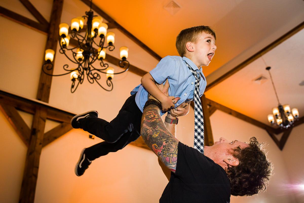 gettysburg lodges kid dancing in the ballroom
