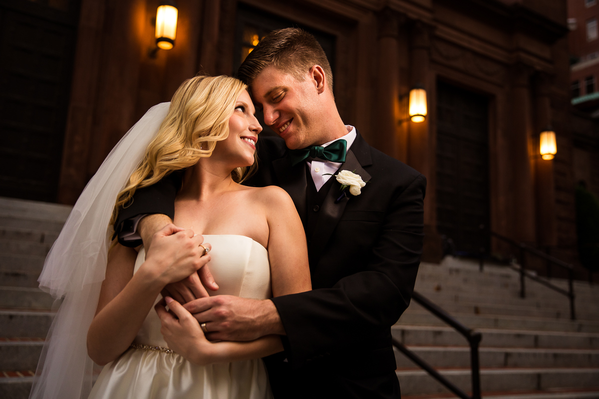 SAINT MATTHEW'S CATHEDRAL WEDDING photo featuring a bride and groom on Rhode Island NW