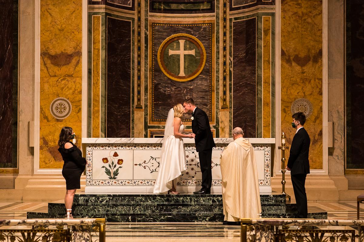 wedding at the Roman Catholic Archdiocese of Washington