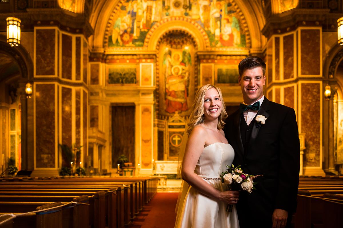 SAINT MATTHEW'S CATHEDRAL WEDDING glow