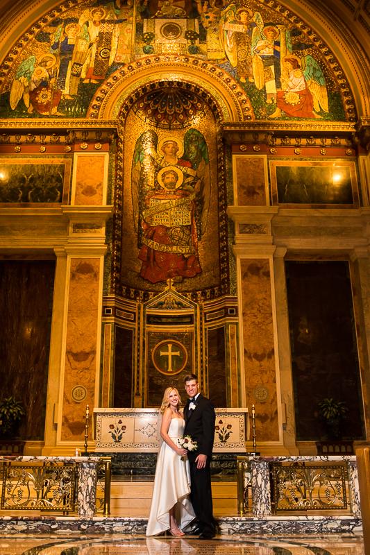 SAINT MATTHEW'S CATHEDRAL WEDDING rotunda