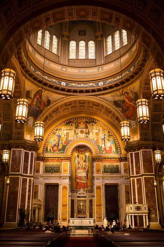 Photograph inside the Roman Catholic Archdiocese of Washington