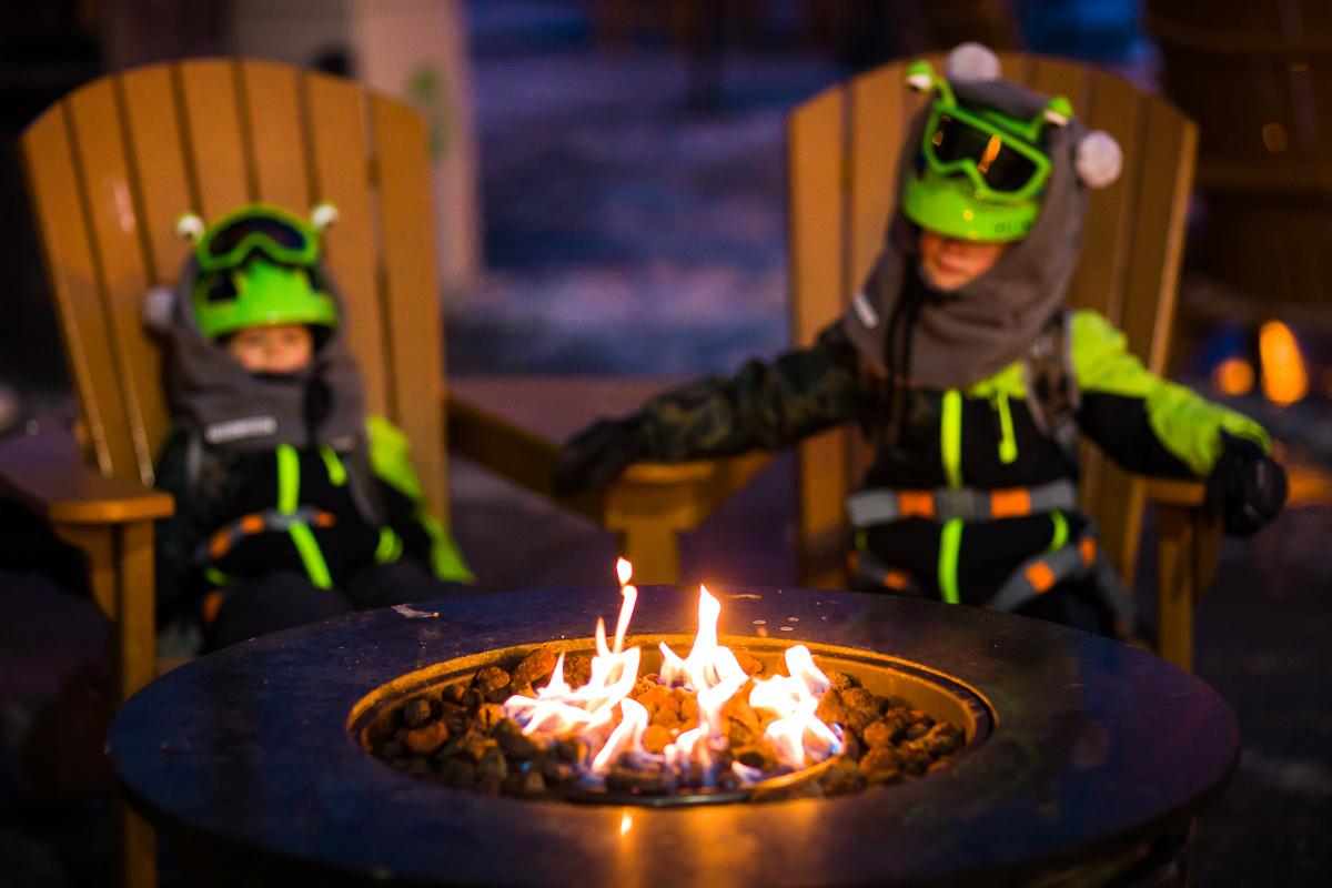 campfire at blue mountain resort