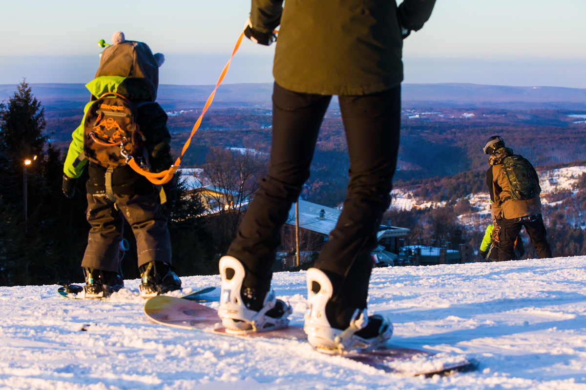 teaching preschoolers to snowboard tips tricks and gear including harnesses