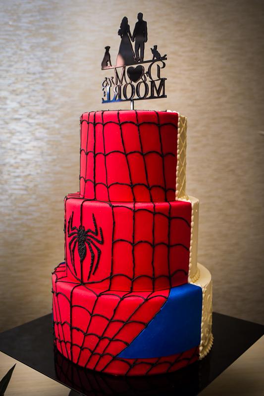 spiderman avengers wedding cake cute ideas