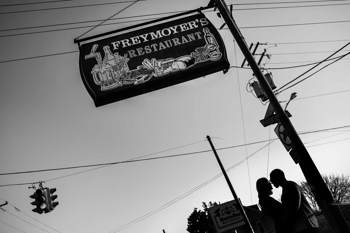 freymoyers sign and and pagoda reading pa iconic engagement locations